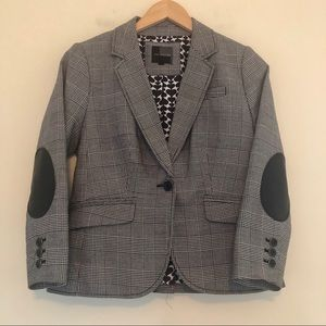 The Limited Blazer Suit Jacket Houndstooth